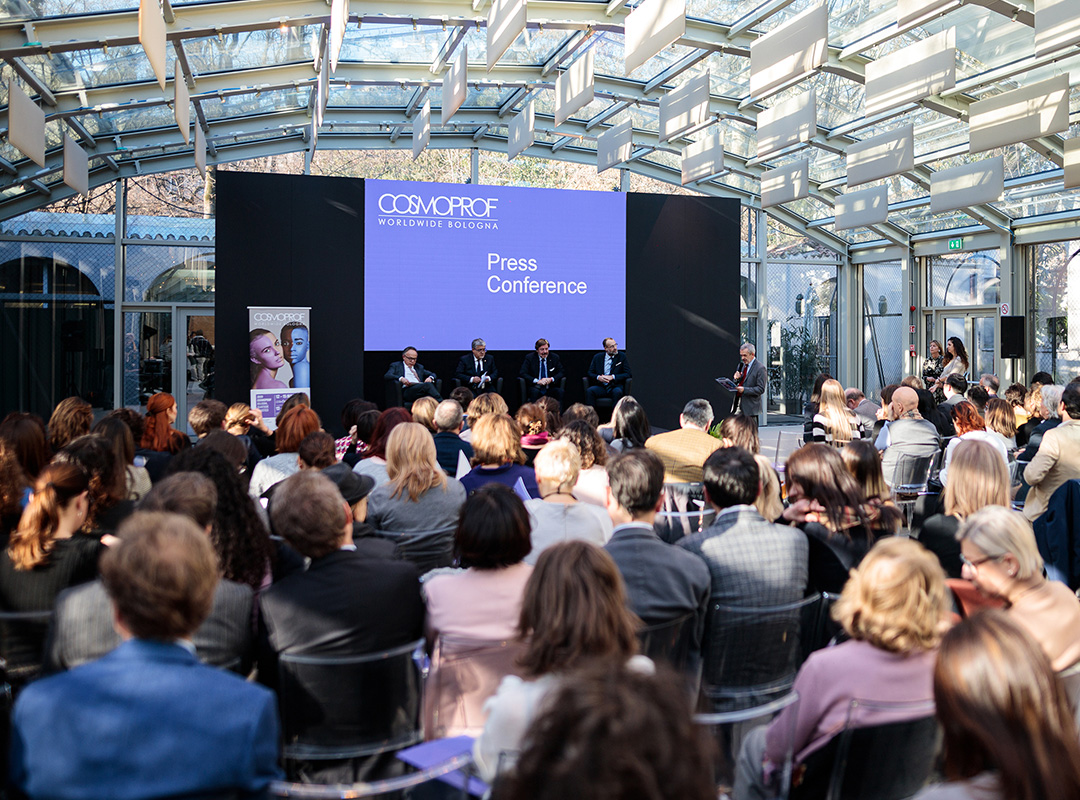 COSMOPROF WORLDWIDE BOLOGNA 2020 PRESS CONFERENCE image 5