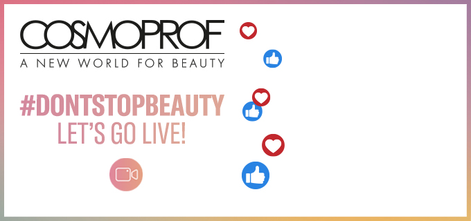 Don't stop beauty: let's go live!